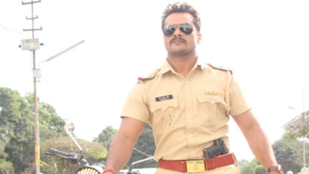 khesari in police dress