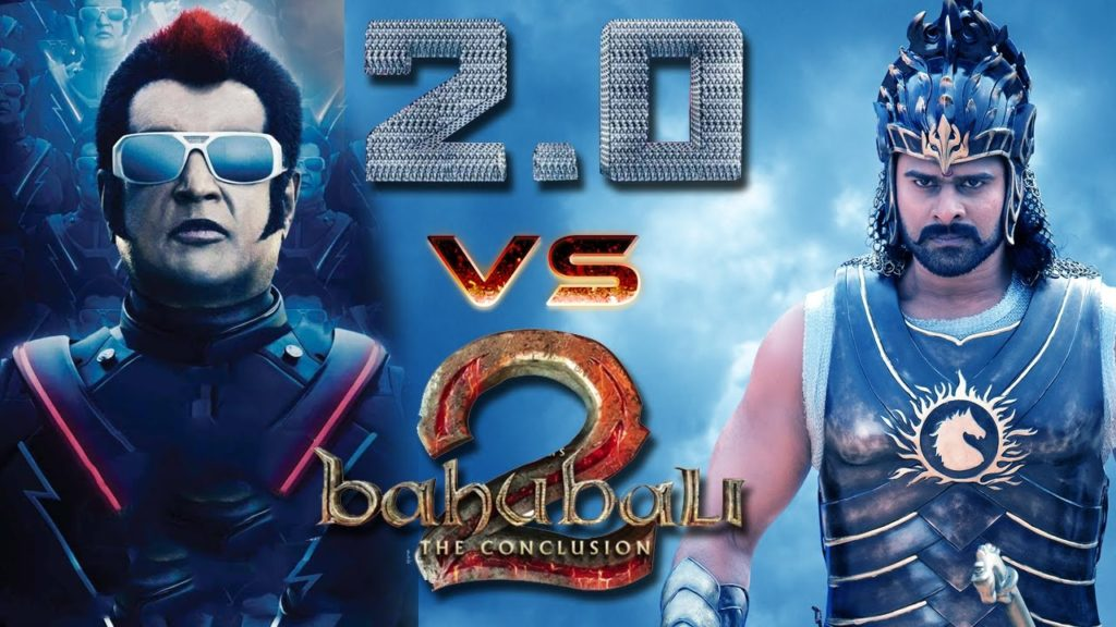 rajnikanth vs 2.0